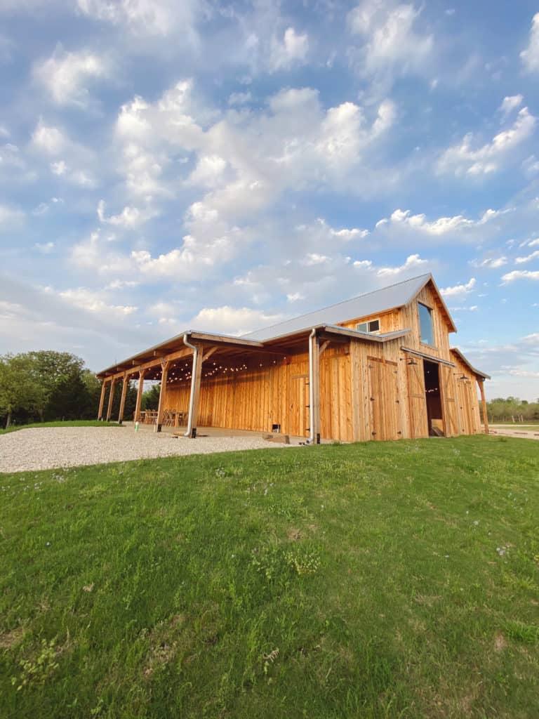 The barn at The Range